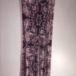 Charlotte Russe maxi shirt with slit